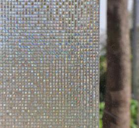 Fönsterfilm /Insynsskydd -Mosaik -Metervara -bredd 45 cm