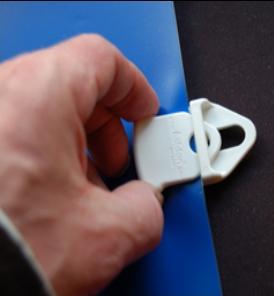PGM Holdon Mini -Ett enkelt sätt att hänga upp banderoller mm