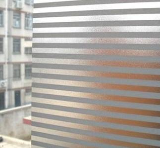 Fönsterfilm /Insynsskydd -Stripe -Metervara - Grimbergs tryck : insynsskydd fönster : Fönster