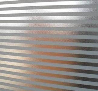 Fönsterfilm /Insynsskydd -Stripe -Metervara - Grimbergs tryck : fönsterfilm : Fönster