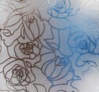 Fönsterfilm /Insynsskydd -Roses -Metervara
