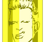 Billy Idol PopArt tavlor