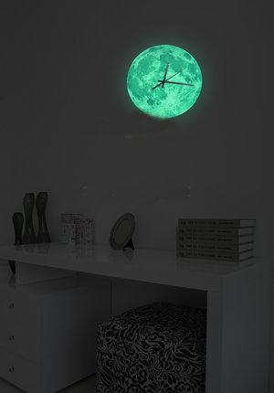 Klocka -Fluorecerande Måne