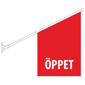 Butiksflagga - Beställa enbart ny flagga (utan hållare)