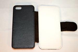 Mobilskal med Ditt eget tryck -Case med lock på framsidan till iphone 5/5S, 6 och 6 plus