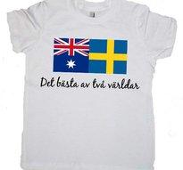 Bästa ur två världar -T-shirt -Vuxen