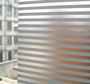Fönsterfilm /Insynsskydd -Stripe