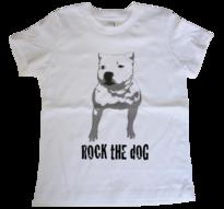 Staffordshire bullterrier -Barn t-shirt, print 1