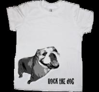 Engelsk Bulldog -Barn t-shirt