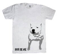 Staffordshire bullterrier t-shirt, print 1