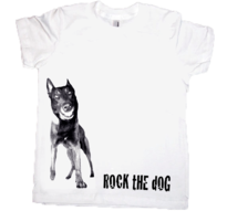 Malinois -Barn t-shirt, print 1