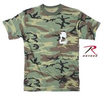 Rock the dog Kids T-shirt -Camo