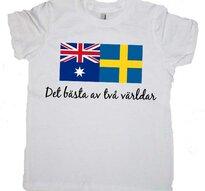 Bästa ur två världar -T-shirt -Barn