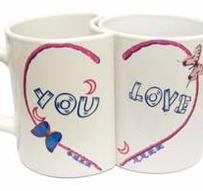 Lover Mug med Ditt eget tryck