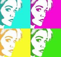 Kundspecifik artikel Warhol och 4-Warhol -ej tryck, i digital form