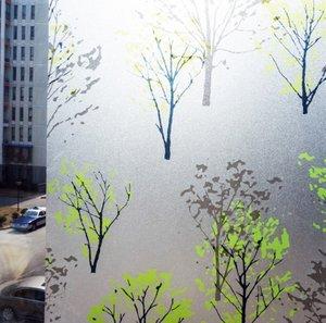 Fönsterfilm /Insynsskydd -Trees -Metervara