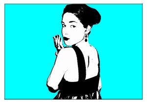 Warhol -omgjord för hand